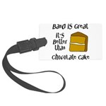 Band is Great Large Luggage Tag