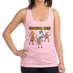 Colorguard Rocks Racerback Tank Top