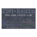 EBM-Radio-Blue, Tune-in Decal