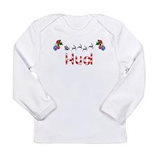 Hud, Christmas Long Sleeve Infant T-Shirt