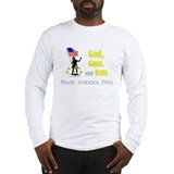 The 3 G's of America Long Sleeve T-Shirt