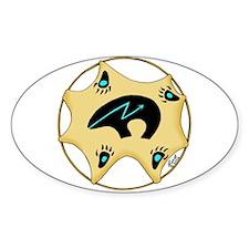 Zuni Bear Oval Decal