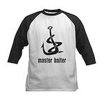 Master Baiter Kids Baseball Jersey