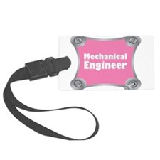 Pink Screw Loose Luggage Tag