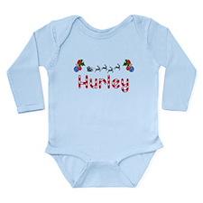 Hurley, Christmas Long Sleeve Infant Bodysuit
