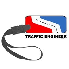 Traffic Engineer Luggage Tag
