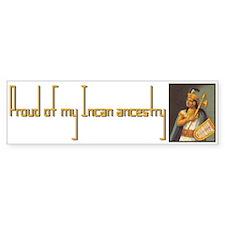 """""""Incan Ancestry"""" Bumper Bumper Sticker"""