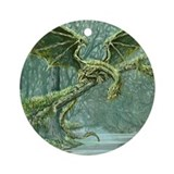 Earth Dragon Ornament (Round)