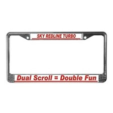 Sky RL Double Fun - License Plate Frame