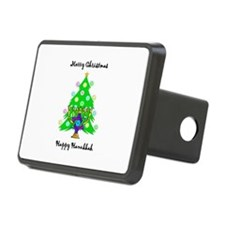 Christmas Hanukkah Interfaith Hitch Cover