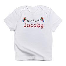 Jacoby, Christmas Infant T-Shirt