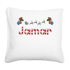 Jamar, Christmas Square Canvas Pillow