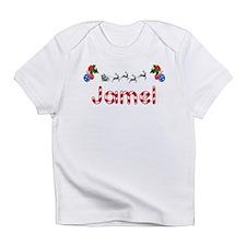 Jamel, Christmas Infant T-Shirt