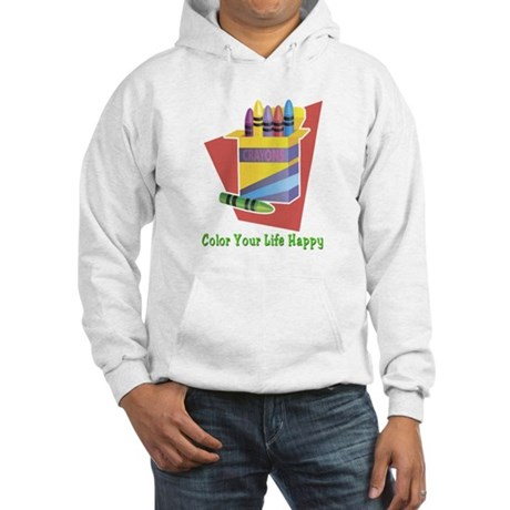 A Happy Life Hooded Sweatshirt