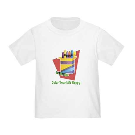 A Happy Life Toddler T-Shirt