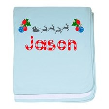 Jason, Christmas baby blanket