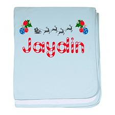 Jaydin, Christmas baby blanket