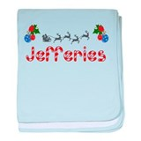 Jefferies, Christmas baby blanket