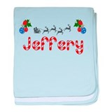 Jeffery, Christmas baby blanket