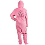 radioactive_CPDark.png Footed Pajamas