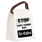 ZazIceCube.png Canvas Lunch Bag