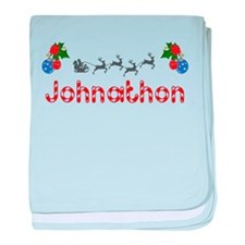 Johnathon, Christmas baby blanket