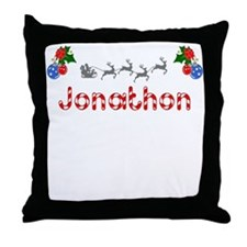 Jonathon, Christmas Throw Pillow