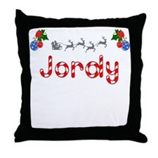Jordy, Christmas Throw Pillow