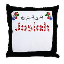 Josiah, Christmas Throw Pillow