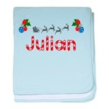 Julian, Christmas baby blanket