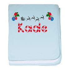 Kade, Christmas baby blanket