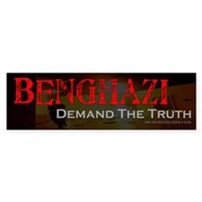 Benghazi Demand Truth Bumper Sticker