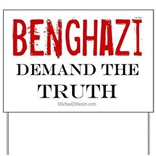 Benghazi Truth Yard Sign