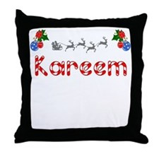 Kareem, Christmas Throw Pillow