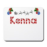 Kenna, Christmas Mousepad