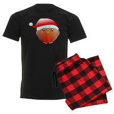 Christmas robin bird pajamas