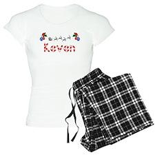 Keven, Christmas pajamas