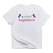Keyshawn, Christmas Infant T-Shirt