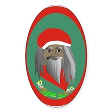 Reggae Santa Decal