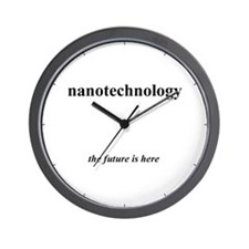 Cute Nanotechnology Wall Clock