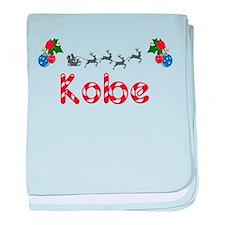 Kobe, Christmas baby blanket