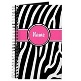 Animal journal personalize Journals & Spiral Notebooks