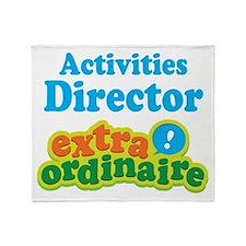 Activities Director Throw Blanket