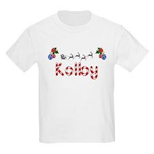 Kolby, Christmas T-Shirt