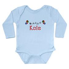 Kole, Christmas Onesie Romper Suit