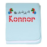 Konnor, Christmas baby blanket