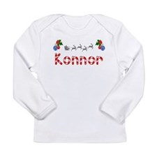 Konnor, Christmas Long Sleeve Infant T-Shirt
