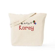 Korey, Christmas Tote Bag