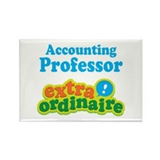 Accounting Professor Rectangle Magnet (10 pack)