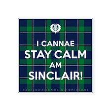 """Sinclair Square Sticker 3"""" x 3"""""""